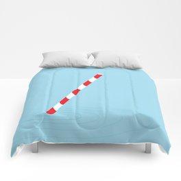 Soda straw Comforters