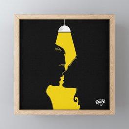 Where There's Love Framed Mini Art Print