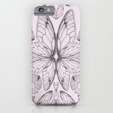 Rose Quartz Insect Wings iPhone 6s Slim Case