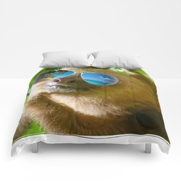 Sloth with Sunglasses, Chillin' Comforters