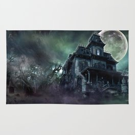 The Haunted House Rug