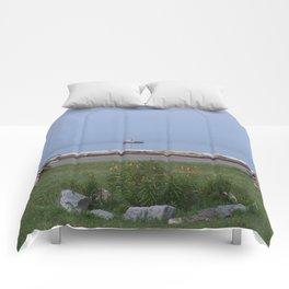 Coastal Paradise Scene Comforters