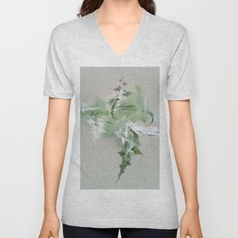 green spirit Unisex V-Neck