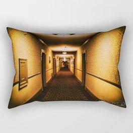 A hallway to remember Rectangular Pillow