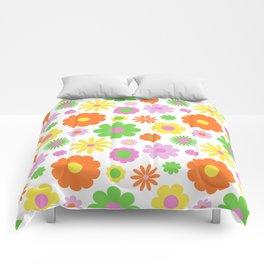 Vintage Daisy Crazy Floral Comforters