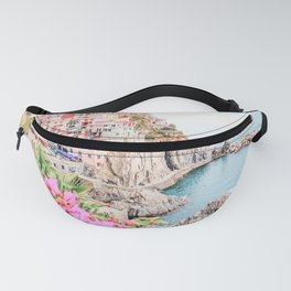 Beautiful Positano, Italy Photography in HD Fanny Pack