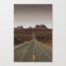 Run Forrest Canvas Print