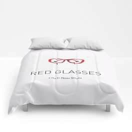 RED GLASSES  Comforters