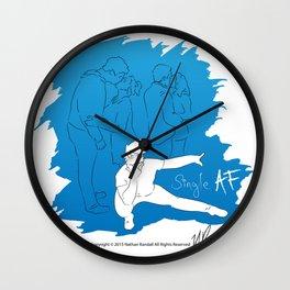 Single AF Wall Clock