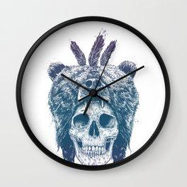 Dead shaman Wall Clock