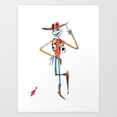 A Toy's Nightmare Art Print