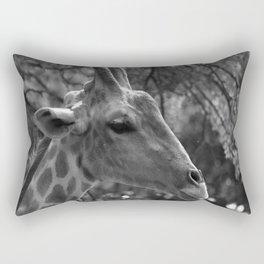 Giraffe Portrait Rectangular Pillow
