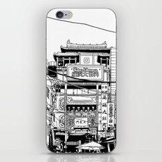 Yokohama - China town iPhone & iPod Skin