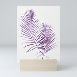 Purple Palms Mini Art Print