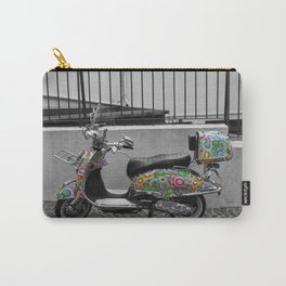 Cannes French Riviera Vintage Scooter Photography Carry-All Pouch