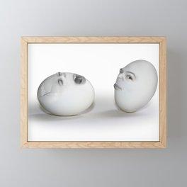 Cracked Egg & a Wink Framed Mini Art Print