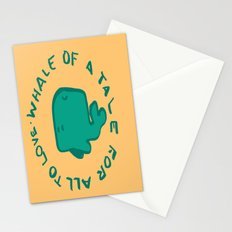 Whale Love Stationery Cards