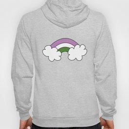 """Genderqueer GQ Flag """"Rainbow"""" Hoody"""