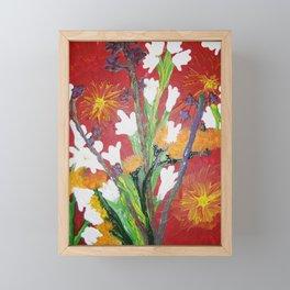 Market day Framed Mini Art Print