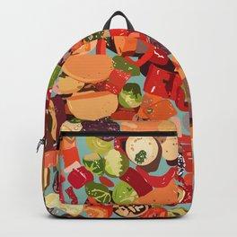 Grilled Vegetables Backpack