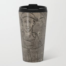 Monk mural Travel Mug