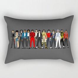 King MJ Pop Music Fashion LV Rectangular Pillow