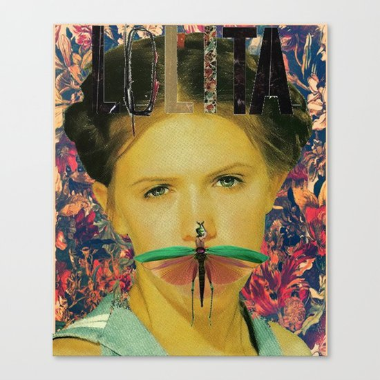 Hey, Lolita, Hey! Canvas Print