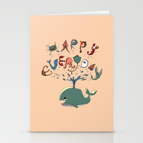 Happy Everyday Stationery Cards