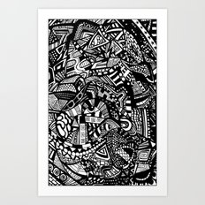 the Machine Art Print