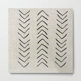 Minimal Arrow Pattern  Metal Print