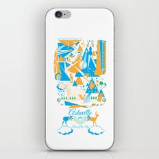Land of The Sky. iPhone & iPod Skin