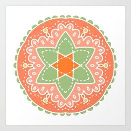 Dreaming of Cantaloupes Art Print