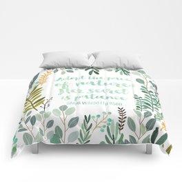 Emerson Quote Comforters