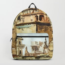 Varanasi India Hindu Pilgrimage Backpack