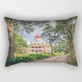 Octagon House - Longwood in Natchez Rectangular Pillow