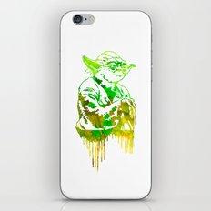 Yoda Print iPhone & iPod Skin