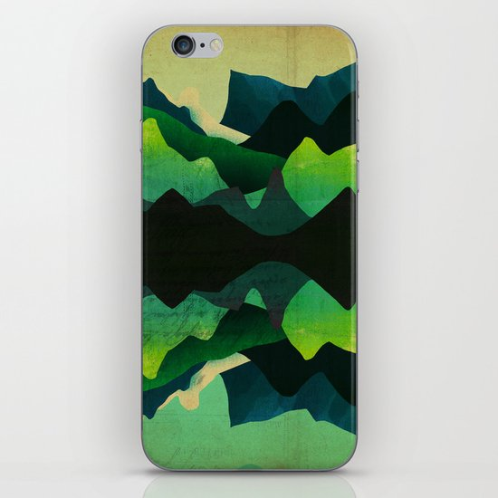 Mountain Reflections iPhone & iPod Skin