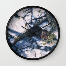 Afternoon Snack Wall Clock