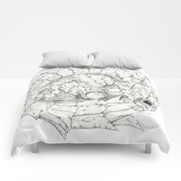 Scaley Knight Comforters