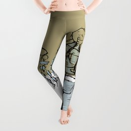 Glass people Leggings