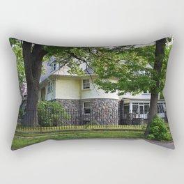 Old West End Edward D Libbey House II Rectangular Pillow