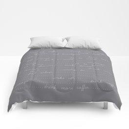 East Sleep Sex - Charcoal Comforters