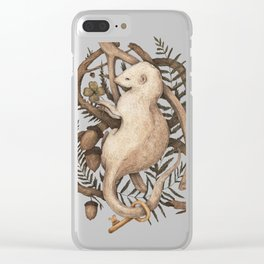 Blessings Surround You Clear iPhone Case