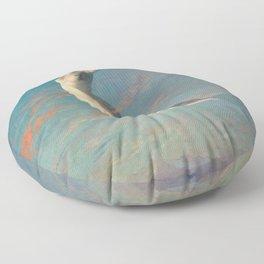 Albert Aublet Selene 1880 Floor Pillow