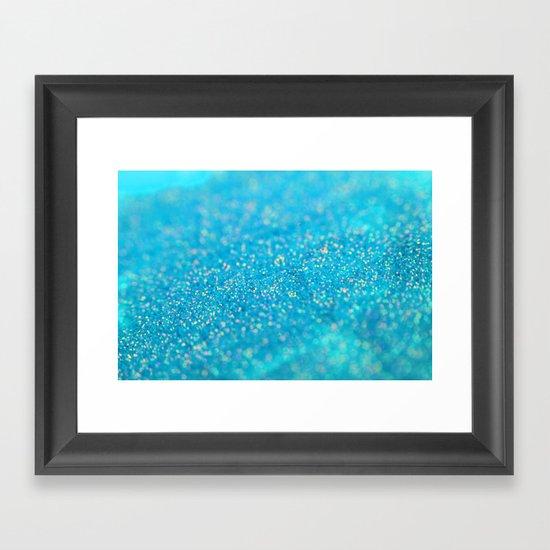 Mermaid Sparkles Framed Art Print