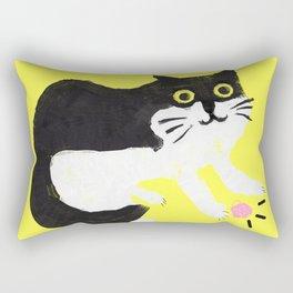 Murphy the cat Rectangular Pillow
