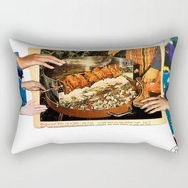 Kebab Grab Rectangular Pillow