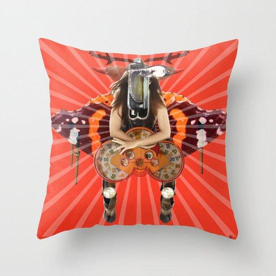Slut Machine · Monolithic Baby Throw Pillow