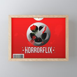 Horrorflix Framed Mini Art Print