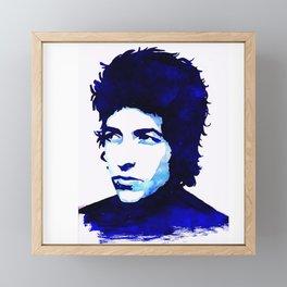 BobDylan Framed Mini Art Print